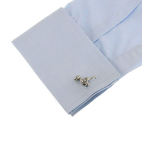 T-Rex Silver Cuff Links