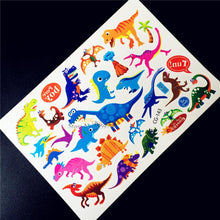 Cartoon Dino Temporary Tattoos