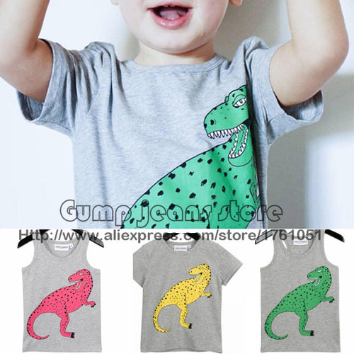 Dino Tee and Tank for Tots