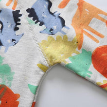 Kids' Watercolor Print Sweater