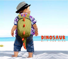 Dino-back School Bag with Tail
