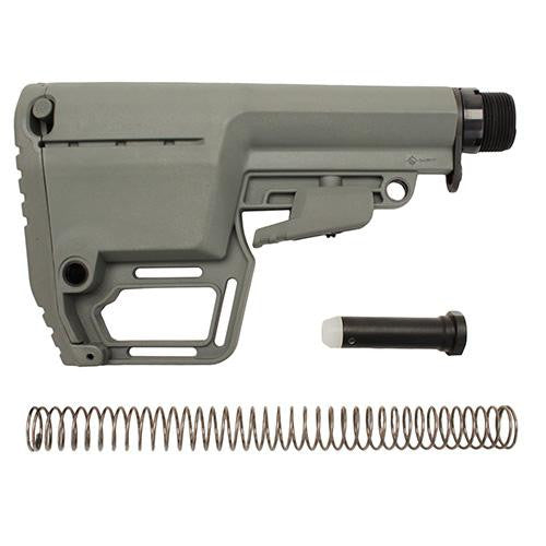 Battlelink Utility Stock Commercial w-Tube - Foliage Green