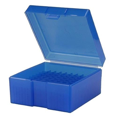 #1009,  243-308  100 ct. Ammo Box - Blue