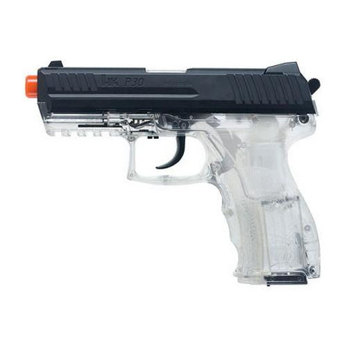 H&K Replica Soft Air - P30, Spring w-Metal Slide, 15 Round - Clear