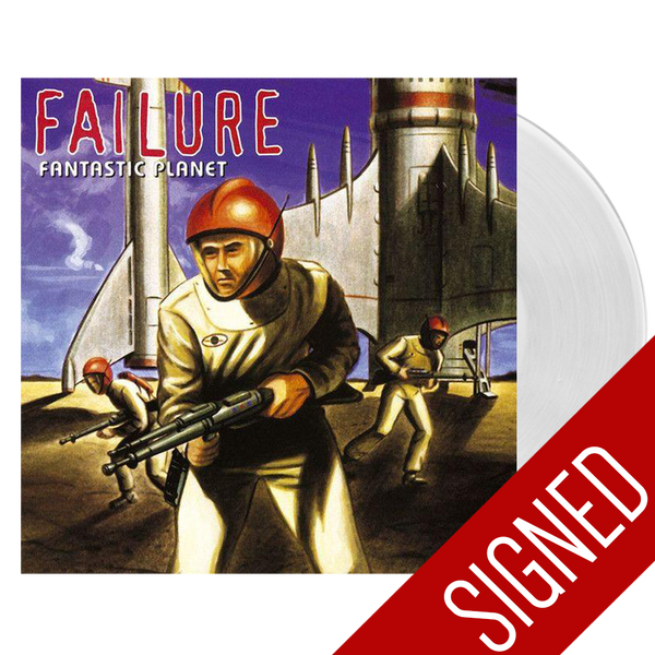 Fantastic Planet Clear Vinyl Signed (2016)