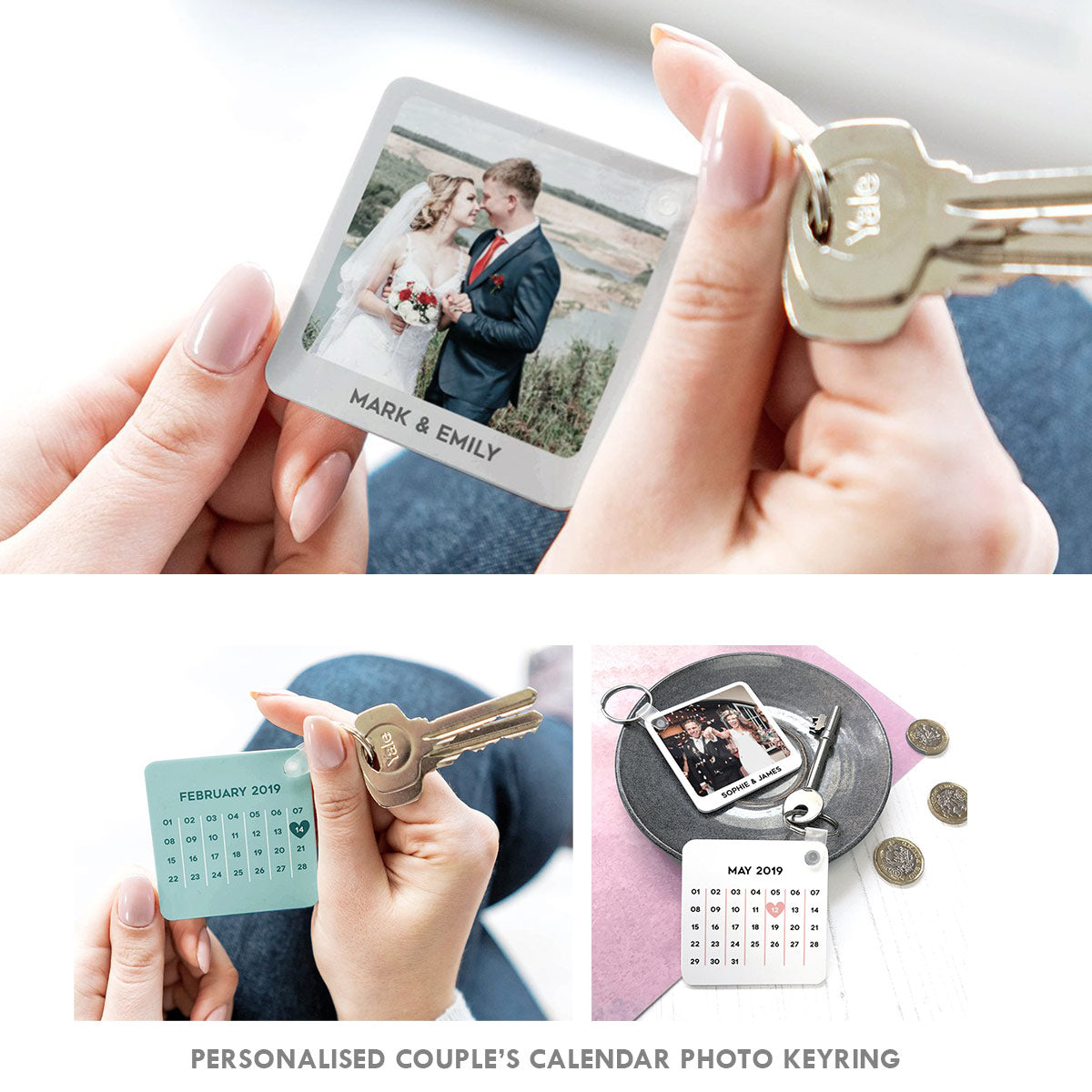 Personalised Couple's Special Date Photo Calendar