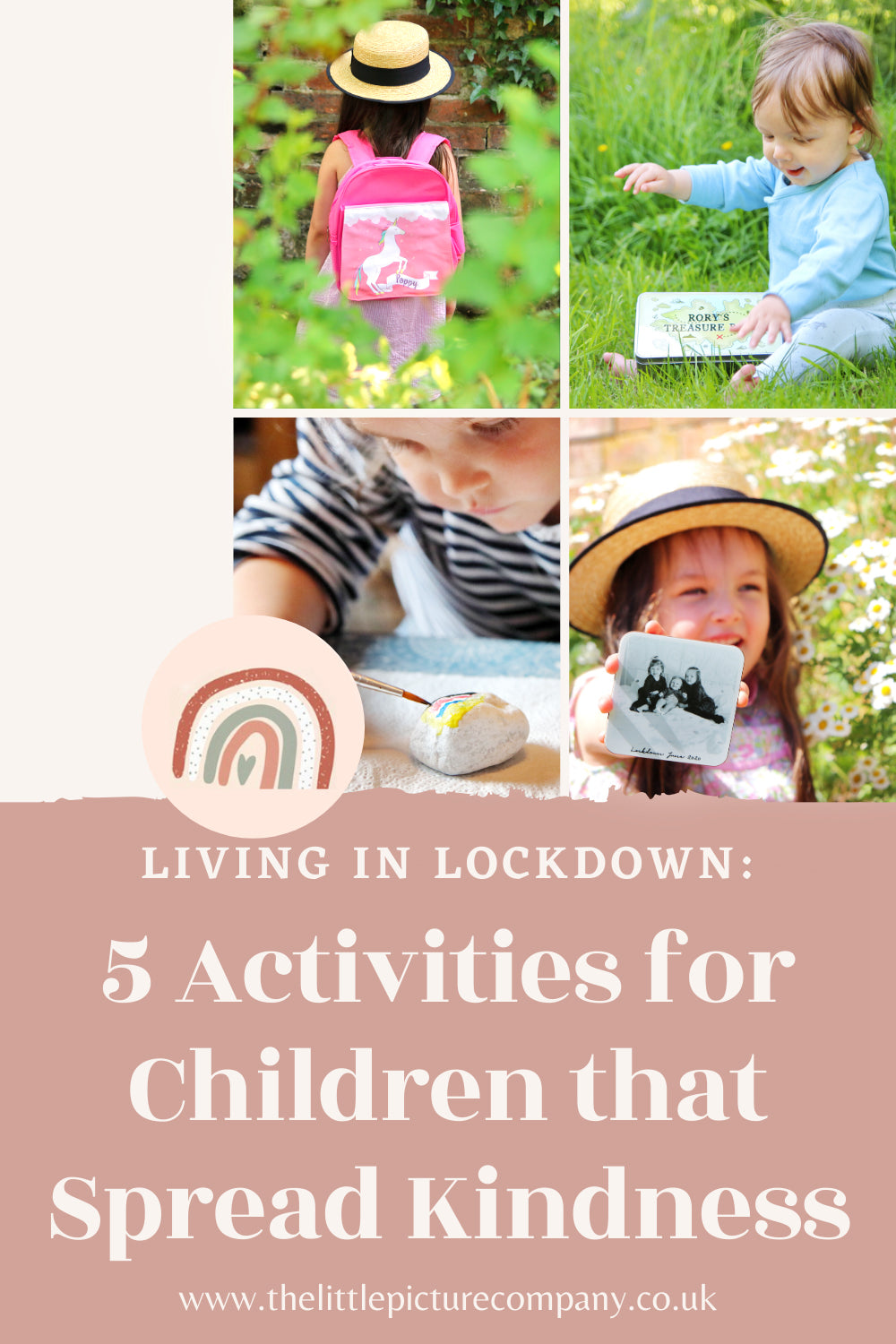Living in Lockdown: 5 Activities to Keep Children Busy whilst Spreading Kindness