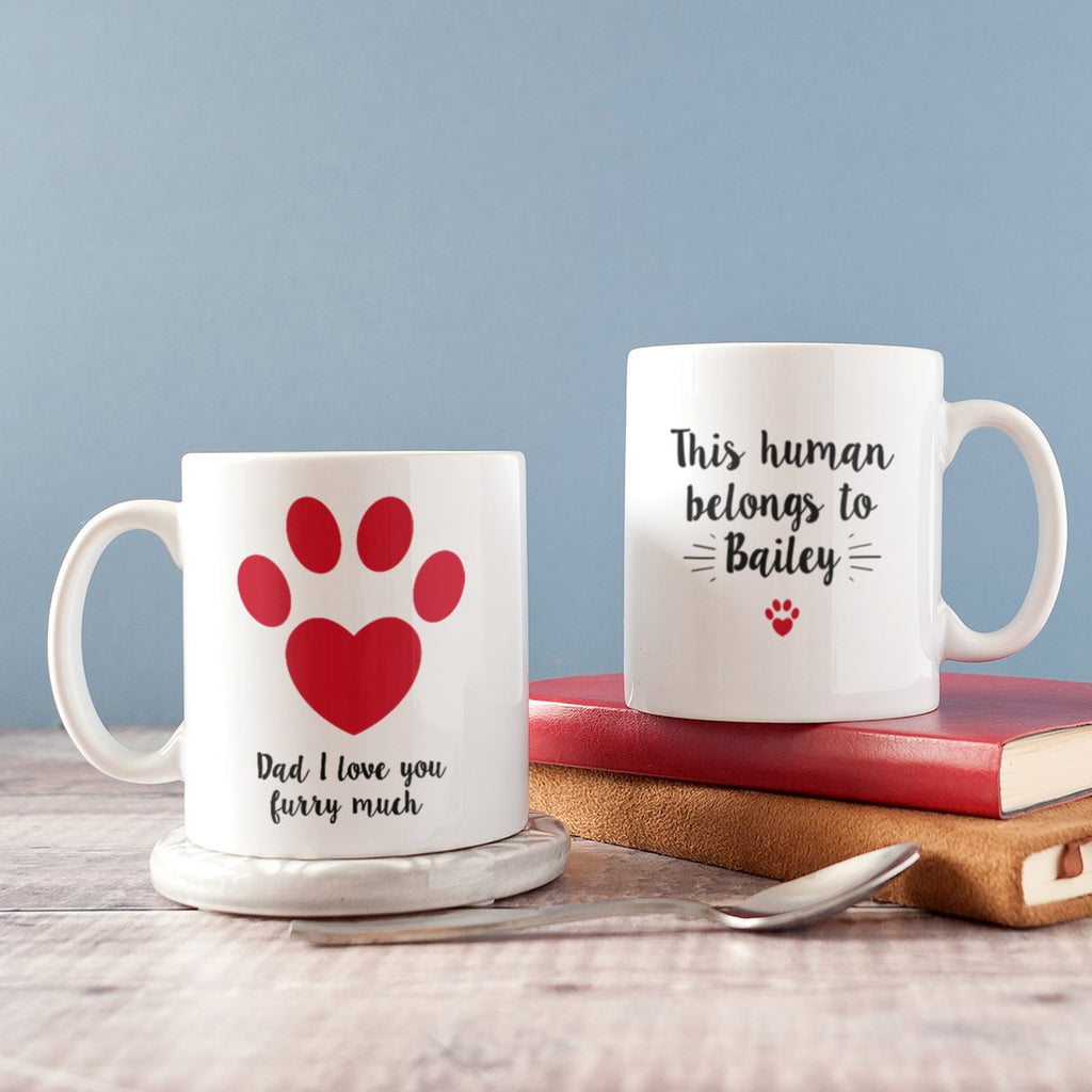 Unique personalised father's day gifts for pet dads under £10