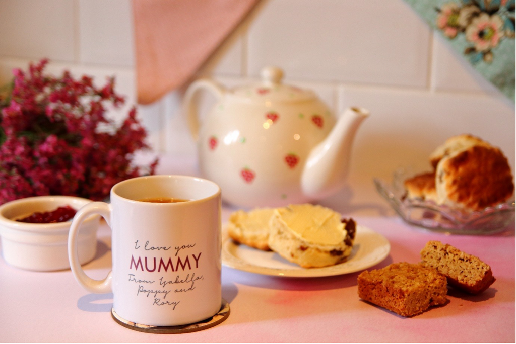 Personalised 'I Love You Mummy' Photo Mug for Mother's Day