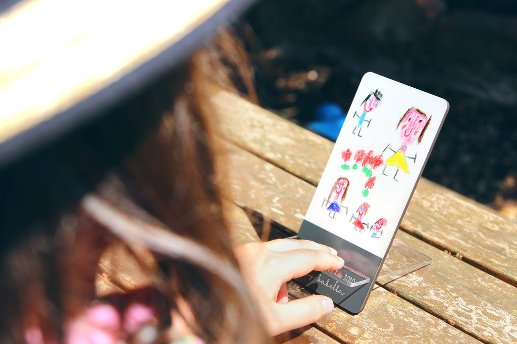 Personalised Child's Drawing Phone Stand Gift