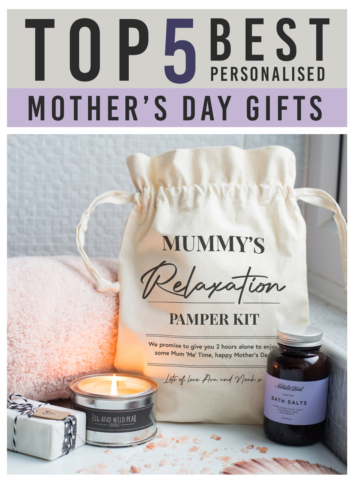 Top 5 best personalised mother's day gifts