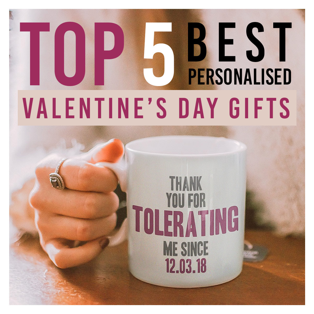 Top 5 Best Personalised Valentine's Day Gifts