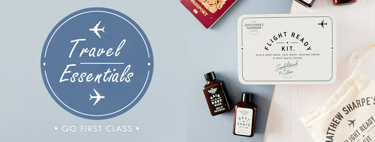 Personalised Travel Essentials and Personalised Travel Gifts