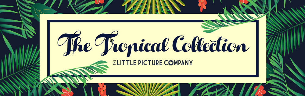 Tropical Themed Personalised Accessories and homeware