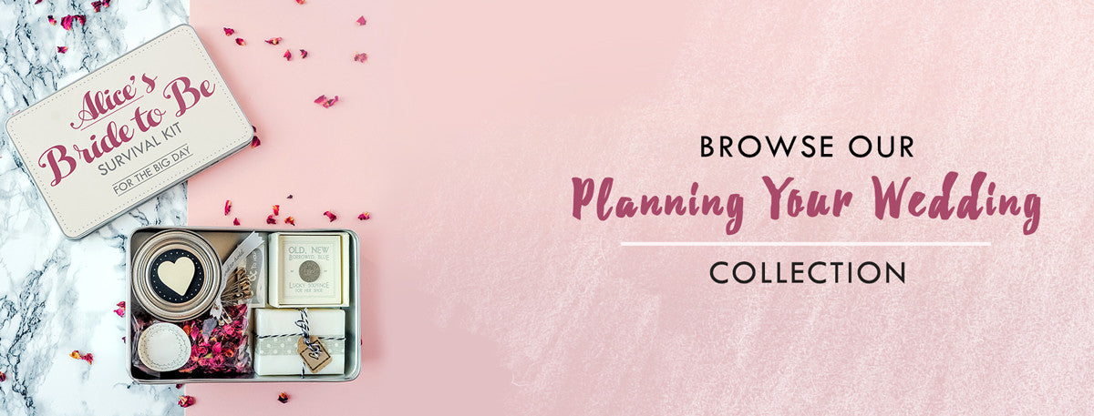 Personalised Products For Planning Your Wedding