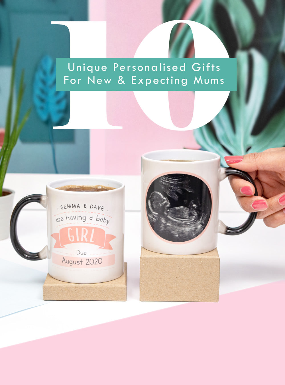 10 Unique Personalised gift ideas for new and expecting mums