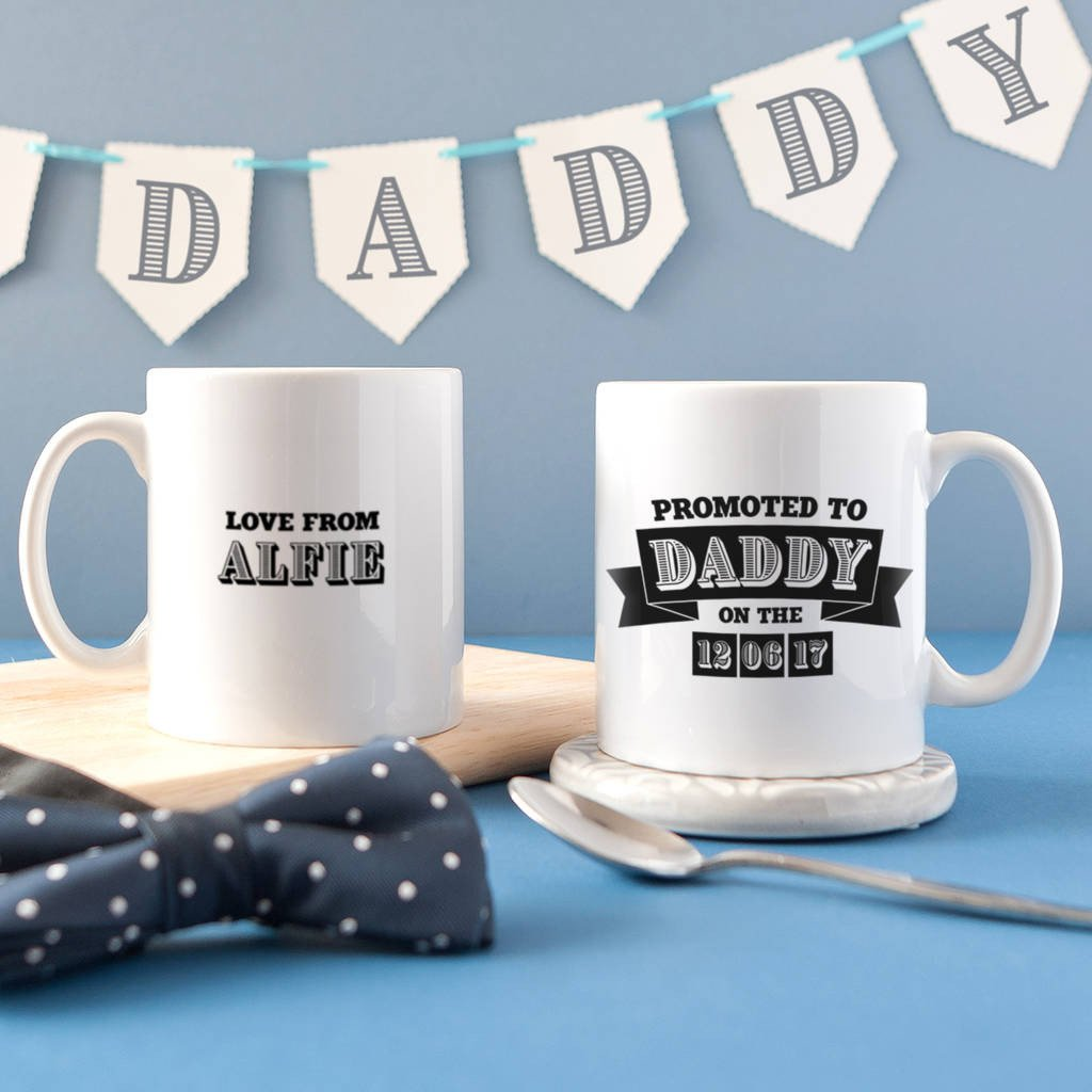 Unique personalised first father's day gifts for dad under £10