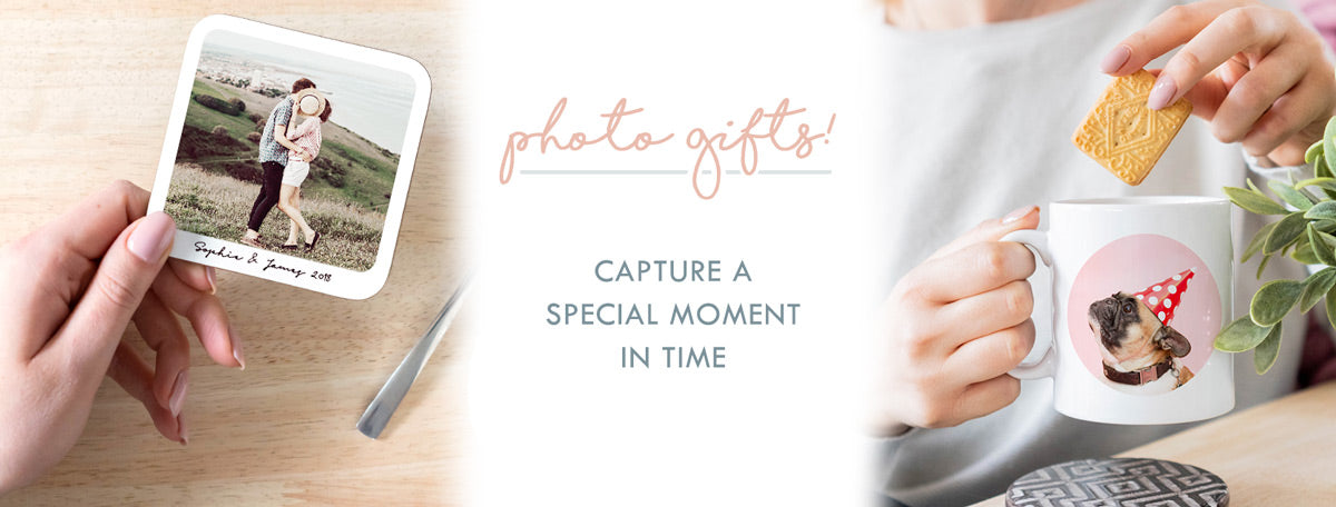 Personalised Photo Gifts: Print your photo on gifts