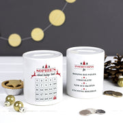 advent calendar moneybox