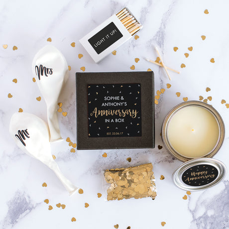 Personalised 'Anniversary' Mini Celebration Box