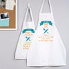 Personalised Granny And Me Apron Set