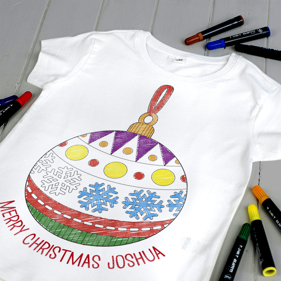 childrens christmas tshirt