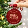 christmas bauble for mum