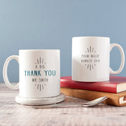 Personalised 'Big Thank You' Teacher Coaster