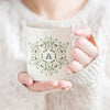 Personalised Monogram Botanical Mug