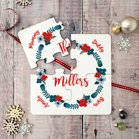 christmas coaster set