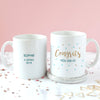 Personalised 'Congrats' Graduation Mug