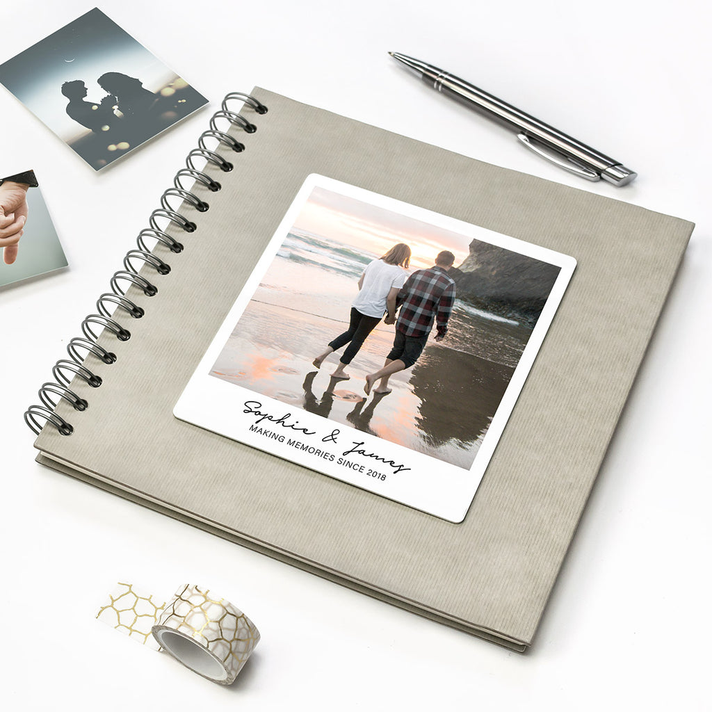 Personalised Photo Cover Couple's Keepsake Album