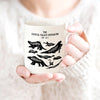 Dinosaurs Of Crystal Palace Chart Mug