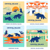 Crystal Palace Dinosaurs - Crystal Palace Subway Retro Coaster