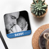 Personalised photo coaster for dad