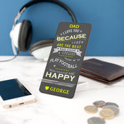 Personalised Father's Day Phone Stand