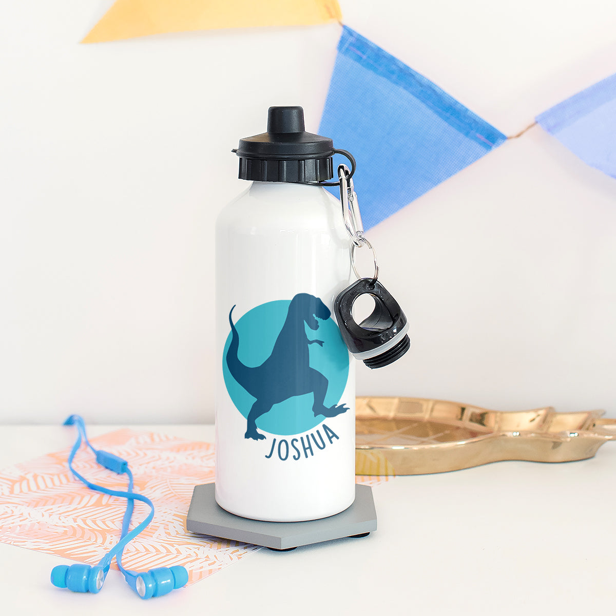 bc1e8d1291 Children's Personalised Dinosaur Waterbottle – The Little Picture Company