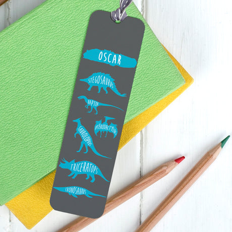 Children's Personalised Guide to Dinosaurs Bookmark