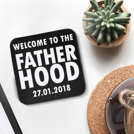 Personalised Fatherhood Coaster