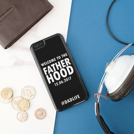 Personalised Fatherhood iPhone Cover