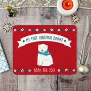 polar bear placemat