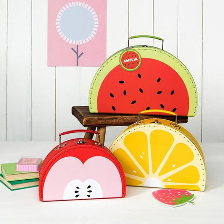 Set of 3 Watermelon Fruit Nesting Cases
