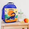 Children's Personalised Insulated Indie Bay Dinosaur Lunch Bag