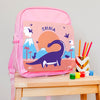 Children's Personalised Indie Bay Dinosaur Backpack