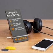 personalised phone rest