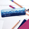 Wanderlust Tolkien Quote Metal Bookmark