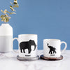 personalised elephant gift mug