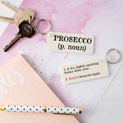 Personalised Prosecco Candle In Gift Bag