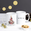 'Purrfect Christmas' Personalised Mug