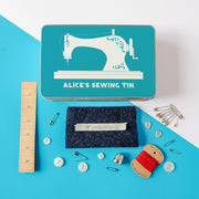 Personalised Retro Style Sewing Kit